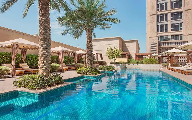 Hilton Dubai al Habtoor City i Dubai, Förenade Arabemiraten.