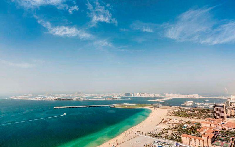 Hotell Hilton Dubai The Walk i Dubai, Förenade Arabemiraten.