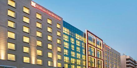 Hotell Hilton Garden Inn Mall of the Emirates i Dubai Al Barsha i Dubai, Förenade Arabemiraten.