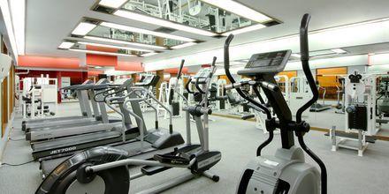 Gym på Hilton Hua Hin Resort & Spa, Thailand.