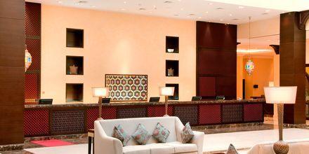 Lobby på hotell hotell Hilton Ras Al Khaimah Resort & Spa.