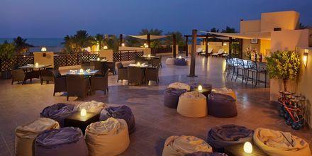 Takbaren ovanpå restaurang Al Bahar på hotell Hilton Ras Al Khaimah Resort & Spa.