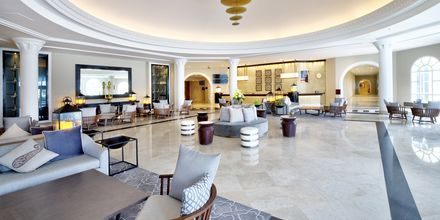 Lobby på Hilton Salalah Resort, Oman.