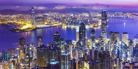 Hong Kong i Kina - en riktig metropol!