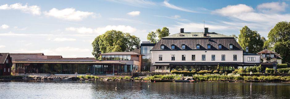 Hotell Hooks Herrgård utanför Jönköping i Småland.