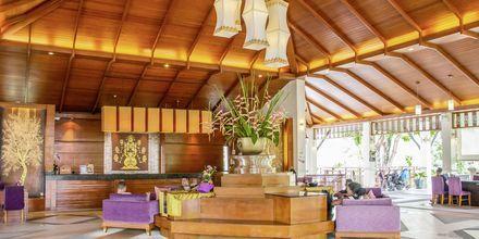Receptionen på Horizon Karon Beach Resort Club Wing, Phuket, Thailand.