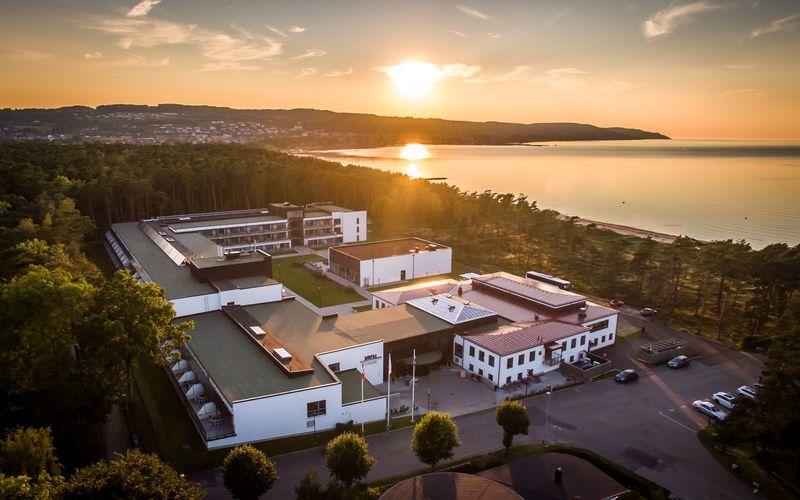 Hotell Riviera Strand i Båstad.