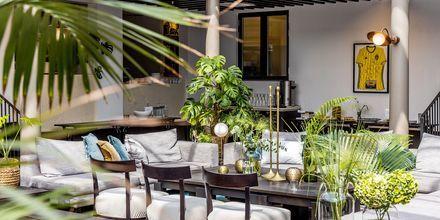Hotell Riviera Strand har en internationell design med art decó.