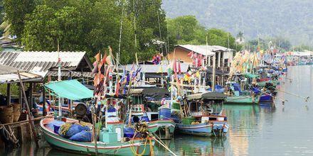 Fisherman Village ligger i närheten av Hua Hin.