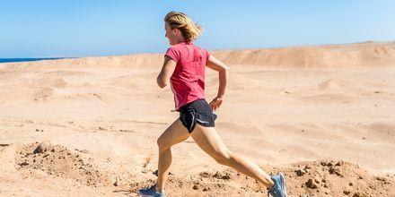 Ta en uppfriskande löptur.