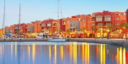 Marinan i Hurghada, Egypten.