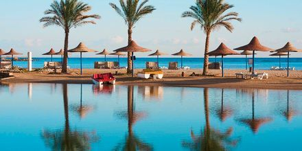 Långgrunda stränder i Hurghada.