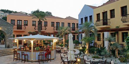 Hotell Iapetos Village på Symi, Grekland.