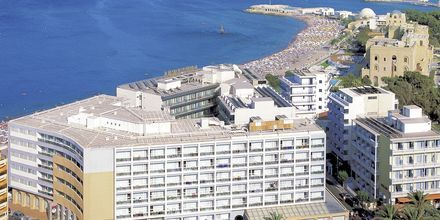 Hotell Ibiscus i Rhodos stad, Grekland.