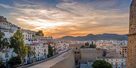 Dalt Vila, gamla stan i Ibiza.