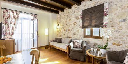 Tvårumslägenhet på hotell Ideon i Rethymnon stad på Kreta, Grekland.