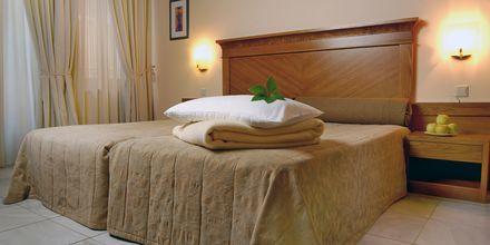 Tvårumslägenhet på hotell Ideon i Rethymnon, Kreta.