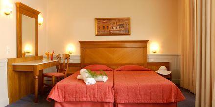 Dubbelrum på hotell Ideon i Rethymnon, Kreta.