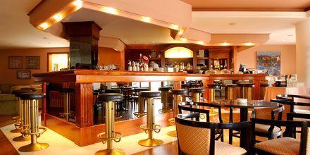 Bar på hotell Ideon i Rethymnon stad på Kreta, Grekland.