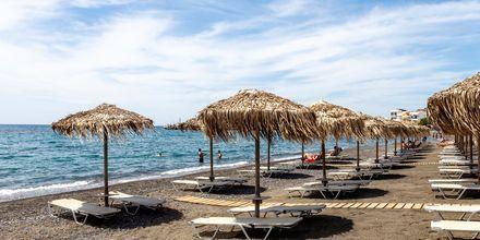 Stranden i Ierapetra på Kreta, Grekland.