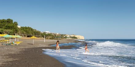 Stranden i Koutsounari på Kreta i Grekland.