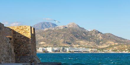 Den kända borgen i Ierapetra, som är ett landmärke för staden.