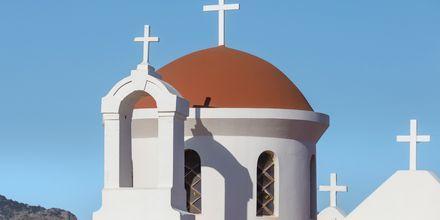 Pittoresk kyrka i Koutsounari.