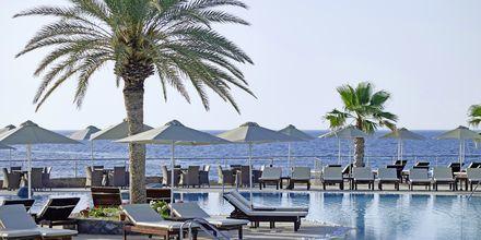 Poolområdet på Ikaros Beach Resort & Spa på Kreta, Grekland.