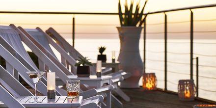 Bar på Ikaros Beach Resort & Spa på Kreta, Grekland.