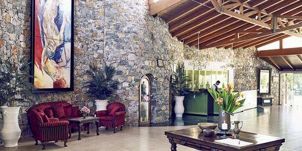 Lobbyn på Ikaros Beach Resort & Spa på Kreta, Grekland.