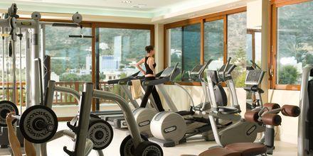 Gym på Ikaros Beach Resort & Spa på Kreta, Grekland.
