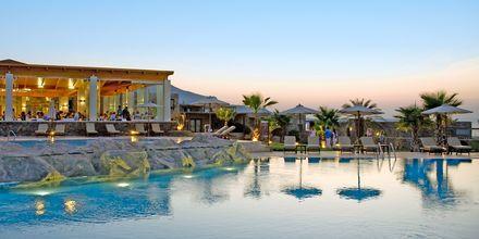 Huvudrestaurangen på Ikaros Beach Resort & Spa på Kreta, Grekland.