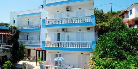 Hotell Ilias på Alonissos, Grekland.