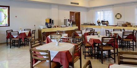 Restaurangen på hotell Iliessa Beach i Argassi på Zakynthos, Grekland.