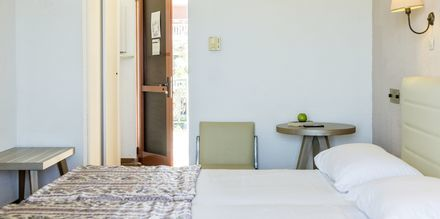 Dubbelrum på hotell Iliessa Beach i Argassi på Zakynthos, Grekland.