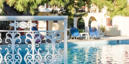 Pool på hotell Iliessa Beach i Argassi på Zakynthos, Grekland.