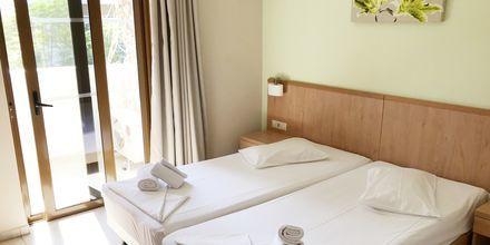 Trerumslägenhet på hotell Imperial på Kos, Grekland.
