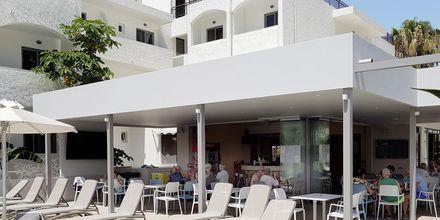 Restaurang på hotell Imperial på Kos, Grekland.