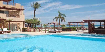 Poolområdet på hotell Imperial Shams Abu Soma i Abu Soma, Egypten.