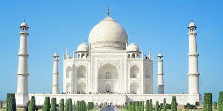 Taj Mahal i Indien.