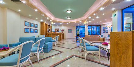 Reception på hotell Indigo Mare, Platanias.