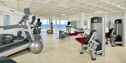 Gym på hotell INNSiDE by Melia Cala Blanca.