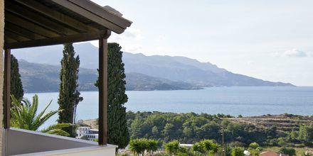 Utsikt från hotell Ino Village på Samos, Grekland.