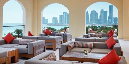 Club lounge på InterContinental Doha i Doha, Qatar.