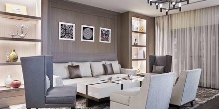 Lounge på InterContinental Doha i Doha, Qatar.