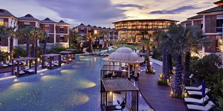 på Intercontinental Hua Hin Resort i Thailand.