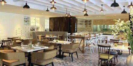 Restaurang Le Colonial på hotell Intercontinental Hua Hin Resort i Thailand.