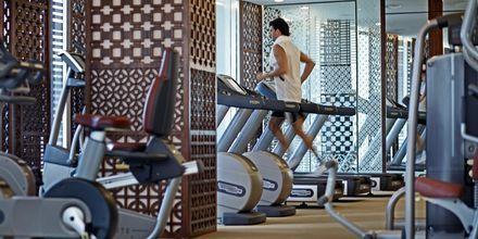 Gym på Intercontinental Hua Hin Resort.