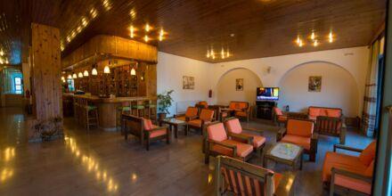Lobby på hotell International på Kos, Grekland.