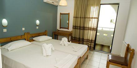 Dubbelrum på hotell International på Kos, Grekland.